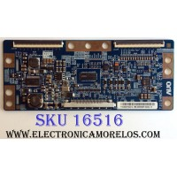 T-CON / SAMSUNG BN81-06005A / 55.40T04.C13 / 5540T04C13 / T315HW04 / 31T09-C0N / PANEL T400HW03 V.7 / MODELOS LN40D550K1FXZA / VR-4090 TW-65411-A040G