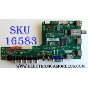MAIN / SANYO B14010094 / T.MS3393T.78 / 3MS3393X-3 / 02-MB3393-CZS001 / PANEL V580HK1-LD6 REV.C1 / MODELO DP58D34 P58D34-00