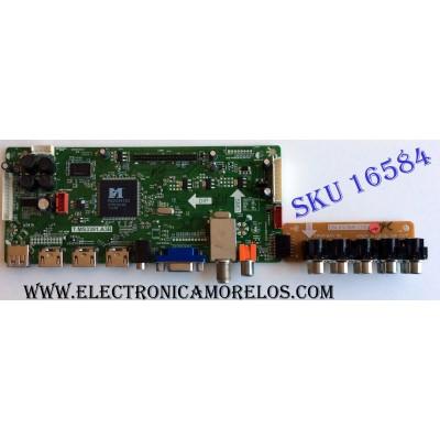 MAIN / SEIKI B12062671 / T.MS3391.A3B / MSD3391DS-S7 / PANEL LM320B3-LE2 / MODELO SE322FS