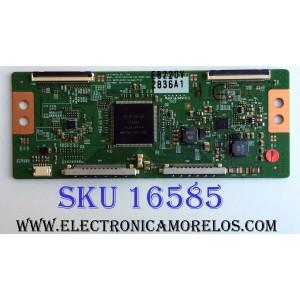 T-CON / VIZIO 6871L-2836A / 6870C-0402C / SUSTITUTAS / 6871L-2842C / 2842F / 2944A / 2944B / 2754C / 75030412 / 2944D / 2836B / 2836E / 2836F / 2754B / 2754D / 2754F / PANEL LC550EUD (SE)(F3) / MODELOS M3D550KD LTYPMLEN / M550VSE LWJSNKBN / TC-L55ET5
