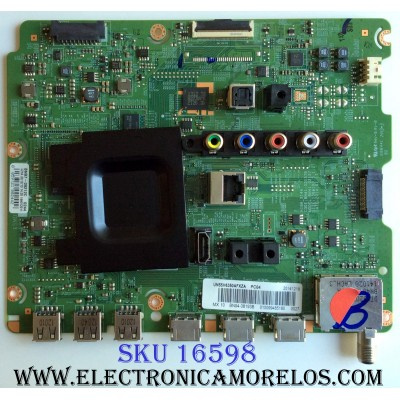 MAIN / SAMSUNG BN94-08193B / BN41-02157B / BN97-09212C / PARTE SUSTITUTA BN94-07259E / PANEL CY-GH055CSLV1H / MODELOS UN55H6350AFXZA  / UN55H6350AFXZA TH01