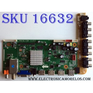 MAIN / SCEPTRE 1A1L3232 / T.RSC8.10A 11153 / LTA320AN09-22414 / CN.SY17A 11423 / PANEL LTA320AN09 / MODELO E325BV-HD