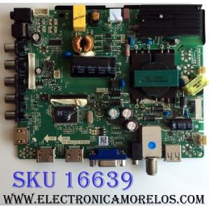 MAIN / FUENTE (COMBO) / ELEMENT N14051054 / TP.MS3393.PB851 / F50TPMS3393PB851007 / PANEL`S D400D3-GG54-C0X / LC400J6E1K1422G / V400HJ6-PE1 / MODELO ELEFW408