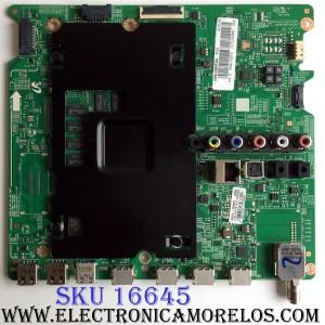 MAIN / SAMSUNG BN94-10057G / BN97-10062C / BN41-02344D / SUSTITUTAS BN94-09032C / BN94-08215H / PANEL CY-GJ065HGLV1V / MODELO UN65JU6500FXZA TS06