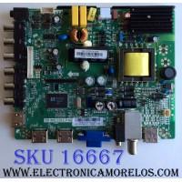 MAIN / FUENTE (COMBO) / UPSTAR B14031015 / TP.MS3393.P86 / 82-2000026 / PANEL HV320WX2-201 / MODELO P32EA8 BO144E