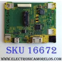 TARGETA GH ENTADA HDMI / PANASONIC TNPA4859AB / TNPA4859 / PANEL MC137F21Z12 / MODELOS TC-P54Z1 / TC-P54Z1M / TC-P54Z1M YQ9260283