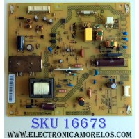 FUENTE DE PODER / TOSHIBA PK101W0450I / FSP072-3FS02 / 75037429 / PANEL U320DH01-TA101 Rev:KD1 / MODELO 32L1400U