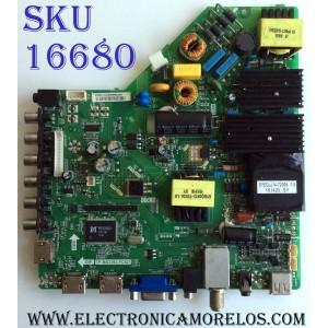 "MAIN / FUENTE (COMBO) / SCEPTRE / PIONEER / TP.MS3393.PC821 / 240205000584 / SMT500058402186096 / E157925 / PANEL SM480SKD601 D0514 / MODELO 48"""