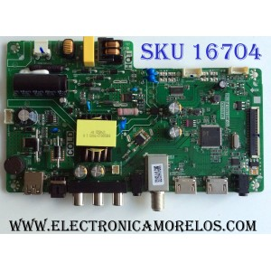 MAIN / FUENTE (COMBO) / ONN B17115426 / TP.MS3553.PB780 / 3MS553D / 02-SH453A-C001000 / PANEL LVW320CSDX E21 / WEY7502691 / T8-32D1200-LPBX3 / MODELO ONC17TV001 H1749WEY