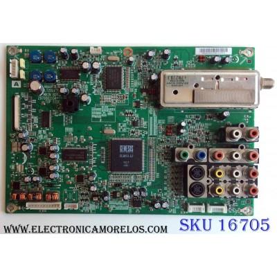 MAIN / SONY 553XA01051G / 2970061104 / LT20L / PANEL V201V1-T03 Rev.C3 / MODELO KLV-20G300A