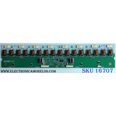BACKLIGHT INVERTER / CMO 27-D028420 / T87I028.13 / I420H1-16C-A001B / PANEL V420H1-L13 Rev.C5 / MODELO EQ4288 HS420A