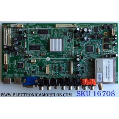 MAIN / VIORE 222-090212001 / MHAV2601-ZC01-01(B) / 303C260107B / PANEL T370HW02 V.2 / MODELO LC37VF55