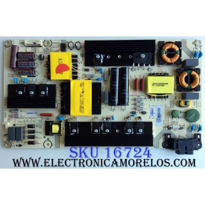 FUENTE DE PODER / SHARP 217654 / RSAG7.820.7238/ROH / HLL-5260WC / CQC13134095636 / MODELO LC-55P6000U