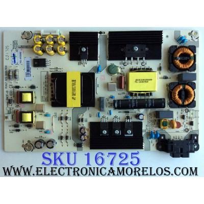 FUENTE DE PODER / HISENSE 214274 / RSAG7.820.6666/ROH / HLL-4155WE / CQC13134095636 PANEL HD500K3U54\S0\GM\ROH / MODELOS 50H6D / 50DU6070