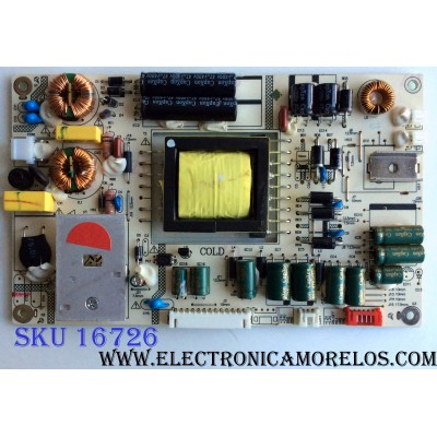 FUENTE DE PODER / APEX LK-PL320217A / CQC04001011196 / 20120512 / MO25110009 / 2038 / MODELO LE3212D