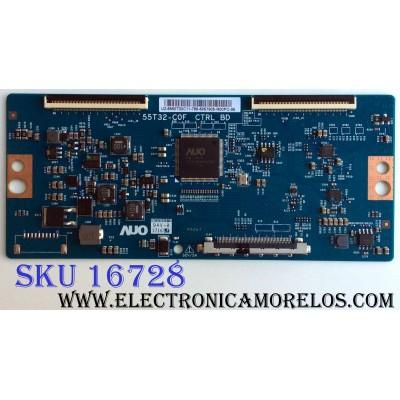 T-CON / HISENSE 5550T32C11 / 55.50T32.C11 / 55T32-C0F / PANEL´S HD500K3U54\S0\GM\ROH 215136 / HD500K3U54\S8\GM\CKD/ROH / MODELOS 50H6D / 50DU6070