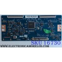 T-CON / HISENSE 5555T32C27 / 55.55T32.C27 / 55T32-COM / MODELOS 55H6D / 55DU6070