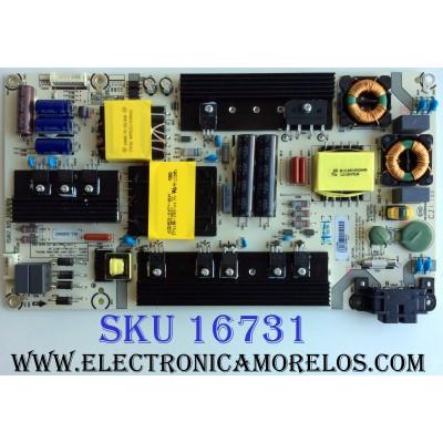 FUENTE DE PODER / SHARP 221094 / RSAG7.820.7238/ROH / HLL-5260WC / CQC13134095636 / PANEL HD550K3U82-L2K1B1 / MODELO LC-55P6000U