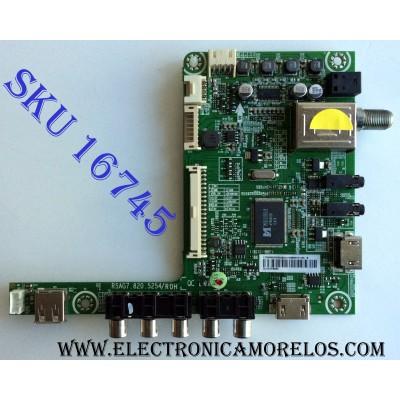 MAIN / HISENSE 170595/E131125 / RSAG7.820.5254/ROH / LTDN50K23DGUS(0) / 170595 / E131125 / PANEL HD500DF-B57\S0 / MODELO 50H6D