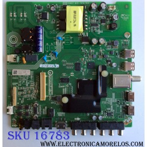MAIN / FUENTE (COMBO) / SHARP 210693 / RSAG7.820.7456/ROH / HU43N2178FW / 214722 / 3TE43M174805 / M174B01 / TM181J41RU / PANEL JHD426N2F21-K1QL / MODELO LC-43P5000U