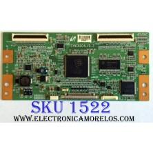 T-CON / RCA 2705E / LJ94-02705E / SYNC60C4LV0.3 / PANEL LTA400HA07 / MODELOS DX-L40-10A / DX-40L150A11 / 40LC45S / 40LC45S57 / 40LA45RQ / L40FHD41YX8 / L40FHD41YX7 / L40FHD41YX9 / L40FHDF11TA / VR-4085DF TW-61901-S040C / PLM-4010