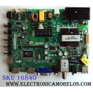 MAIN / FUENTE (COMBO) / SANYO B15031134 / TP.MS3393T.PB79 / 3MS3393X-2 / 42 02-SLS39A-C005000 001 / MODELO FW42D25T