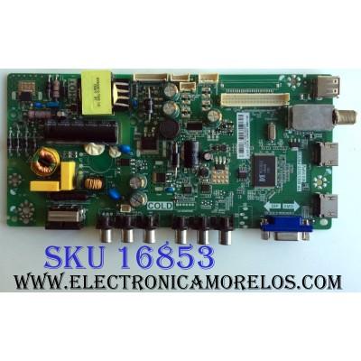 MAIN / FUENTE (COMBO) / TCL L15010768 / TP.MS3393T.PB710 / MS39PV / GLE1185770 / T8-32LATL-MA1 / 02-SHY39Y-CHLA03 / MODELO ¨32¨