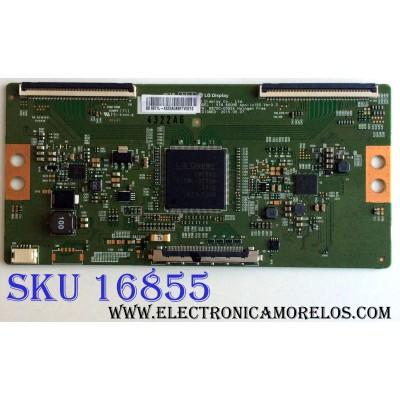 T-CON / SHARP 6871L-4322A / 6870C-0592A / PANEL`S HD600N3U21-L2\S0\GM\ROH / HD600N3U21 / MODELO LC-60P6070U