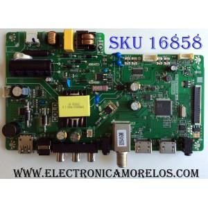 MAIN / FUENTE (COMBO) / ONN B17125544 / TP.MS3553.PB780 / 3MS553D / 02-SH453A-C002000 / T8-32D1200-LPBX3 / WEY7502692 / PANEL LVW320CSDX E21 / MODELO ONC17TV001