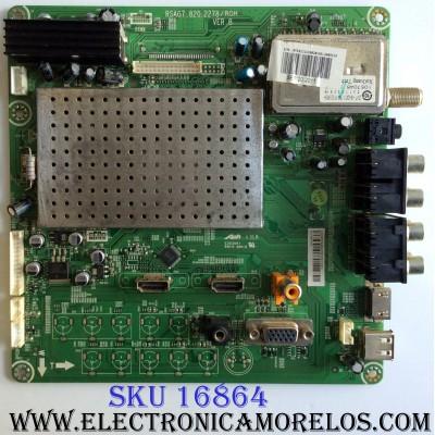 MAIN / HISENSE 152517 / RSAG7.820.2278/ROH / LHD32V77AUS(0) / 152516 / 152517/E110106 / PANEL LC320WXE (SB)(V2) / MODELO H32V77C