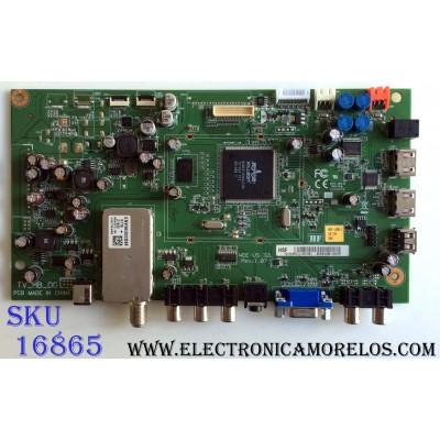MAIN / WESTINGHOUSE 60.EB3UM.11B / 60EB3UM11B04P / WDE-US26-L / WDE-US-32L / REV:1.07 / PANEL K260B2-E03 REV.01 / MODELOS LD-2655VX TW-61101-K026B / LD-2655VX TW-60001-K020B / LD-2657DF TW-62001-K026B