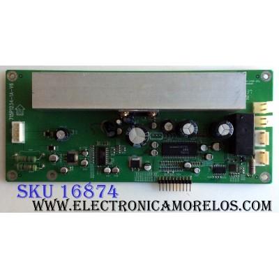 TARJETA DE AUDIO / HP AUPC4269B3 / 715P1234-1A-V6 / PANEL PDP42V64001 / MODELOS PE0000 / PE0000_42_AO