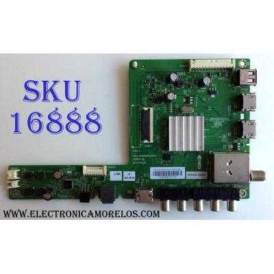 MAIN / LG 1608606M / 5823-A5M58N-0P00 / 1608606LA06876 / COV33915601 / 1608606M-M11912 / 40E2000 / PANEL RDL400FY (QD0-46) REV.00 / MODELO 40LH5000-UA