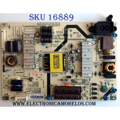 FUENTE DE PODER / LG COV33916001 / 168P-L3L02J-W1 / 5835-L3L02J-W100 / 1608606M / L3L02J / 40E2000-5M58N / E249823 / P5165 / CTI-600 / PANEL RDL400FY (QD0-46) REV.00 / MODELO 40LH5000-UA