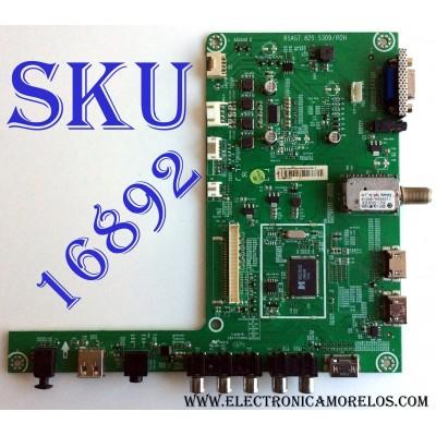 MAIN / HISENSE 166788 V.1 / 166788 / 166788/E130603 / RSAG7.820.5309/ROH / 166788 / E130603 E / LTDN46K360NMUS(0) / PANEL HE460GF-B51/PW1 / MODELO 46K360MN