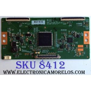 T-CON / LG 6871L-3940D / 6870C-0553A / 3940D / PANEL LC550EQE (F4)(M2) / MODELO 55UX340C-UA AUSYMJR