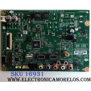 MAIN / LG EBU63447903 / EAX66447003 (1.0) / 63447903 / PANEL NC430DUE-SADP1 / MODELOS 43LF5100-UA BUSYLJM / 43LF5100-UA AUSYLJM