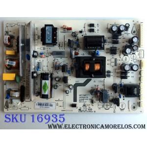 FUENTE DE PODER / RCA MIP550D-6T / MIP550D-DX2 / E214852 / PANEL LC550DUJ-SGEE / MODELO J55BE925