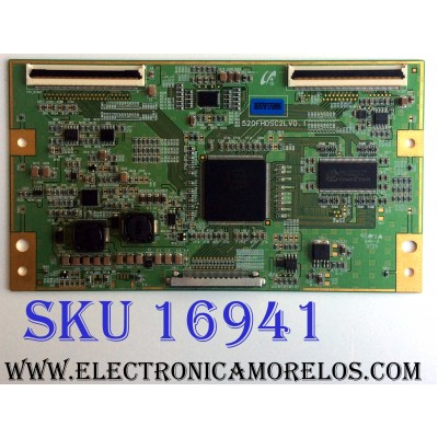 T-CON / SAMSUNG BN81-01698A / LJ94-02070F / 2070F / 520FHDSC2LV0.1 / PANEL LTA520HA05-V01 / MODELO LNT5281FX/XAA SN01