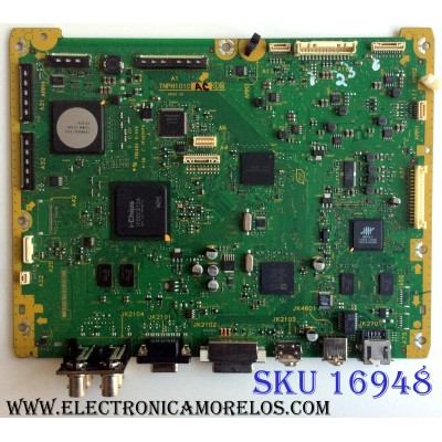 MAIN / PANASONIC TXN/A11UFUS/ TNPH1010AC / TNPH1010A / PANEL MC153FH1400 / MODELO TH-60PF50U