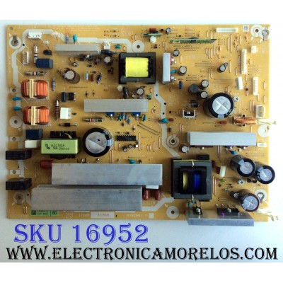 FUENTE DE PODER / PANASONIC / ETX2MM862MNM / NPX863MN1 / 2520 00053 / PANEL MC153FH1400 / MODELOS TH-60PF50U / TH-60PF30U