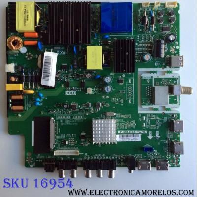 MAIN / FUENTE / (COMBO) / A16087646 / TP.MS3458.PC757 / ST1609AV49EQX1000254 / PANEL LSC490FJ01-W / MODELO 49EQX10