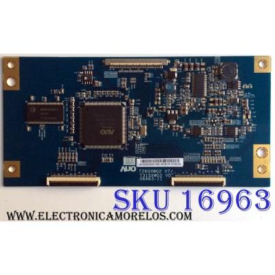T-CON / LG 55.06A63.001 / 5506A63001 / T315XW02 VD / 06A63-11 / PANEL T315XW02 V.D / MODELOS 32LC7D-UK / 32LC5DC-UA AUSTLJR / X32BV-NAGA / 32PFL5322D / 37 / 32PFL3403D / 27