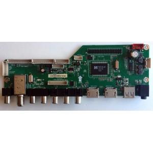 MAIN / RCA RE01M3393LNA23-A2 / LD.M3393.B / 3393B1426 / MK-RE01-140604-ZQ003A / PANEL V320BK1-PS5-12V / MODELO LED32B30RQD / COMPATIBLE CON TELEVISORES CON NÚMEROS DE SERIE QUE COMIENZAN CON LA SECUENCIA 4521-LD32B30-A2