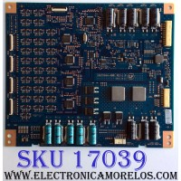 LED DRIVER / SONY 1-895-922-11 / 16STO64A-AB01 / 842746T / PANEL LSY550FW01 / MODELOS XBR-55X930D / XBR-65X935D / XBR-65X937D/ XBR-65X930D