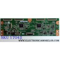 T-CON / SAMSUNG BN96-13688A / 55.54T02.C01 / 5554T02C01 / T546HW01 / PANEL T550FBE1-GA / MODELO UN55C6300SFXZA AA09