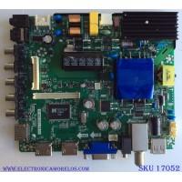 MAIN / FUENTE (COMBO) K17031001 / TP.MS3393.PB751 / PANEL T400-V35-DLED / MODELO ELFW4017