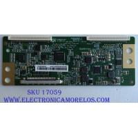 T-CON / LG  HV430FHBN1D / 47-6021141 / 44-9771292 / PANEL NC430DUE-ABFX1 / MODELO 43LJ5500-UA