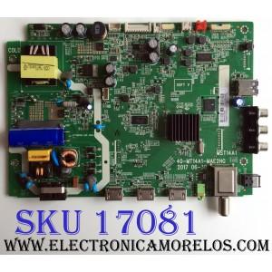 MAIN / FUENTE (COMBO) / INSIGNIA T8-3MS6009-MA200AA / 40-MT14A1-MAE2HG / V8-ST14K01-LF1V7249 / WAF7502970 / MST14A1 / PANEL´S LVW320CSDX E26 V55 / ST3151A05-8 Ver.2.8 / MODELO NS-32DR310NA17