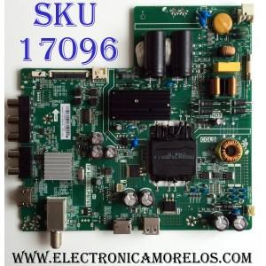 MAIN / FUENTE (COMBO) LG H17092613 / TP.MS3553.PB765 / E254215 / 3200374833 / 43LJ500M-UB / 320021030418005 / 9A84 20170720_170618 / PANEL BOEI430WU1 / MODELO 43LJ500M